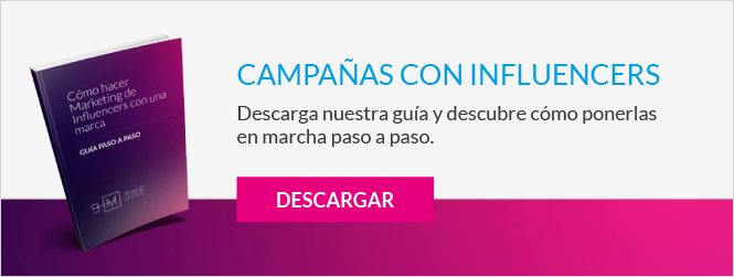 Campañas con influencers