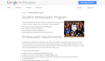 Studient Ambassador Program