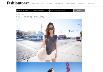 bloggers de moda Fashion Toast