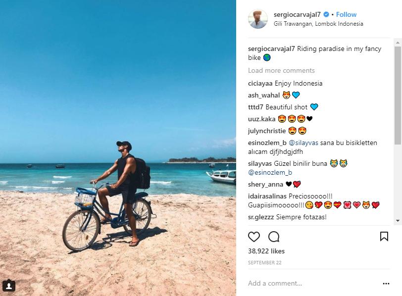 instagram de sergio carvajal influencer
